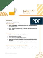 Taller TAP S 7