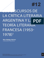 Los discursos de la crítica argentina