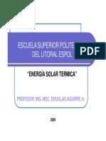 Solar Térmica (Movimiento Del Sol)