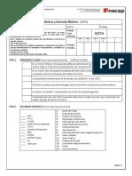 Motores y Comando Eléctrico - Evaluación 1