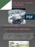 Conservación de Los Recursos Naturales Renovables