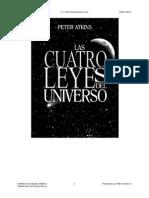 Las Cuatro Leyes Del Universo - Peter Atkins