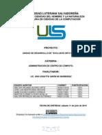 Proyecto Final-Administracion de Centro de Computo