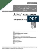 afficio3025
