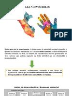 Nuevos Roles de la desentraliaxación el Perú