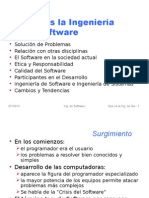 que es la ingenieria de software
