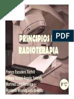 Principios de La Radioterapia