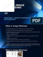 Chapter4 - Image Filtering and Restoration