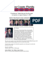 Marion County Florida Failed to Provide Confederate Public Records