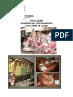 Elaboracion de Chasinados Con Carne de Llama 2