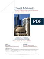 Islamic Finance in The Netherlands