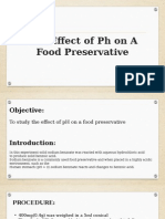 Effect of Ph in the Stomach