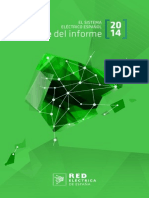 Avance Informe Sistema Electrico 2014