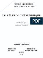 ANGELUS SILESIUS - Le Pèlerin Chérubinique