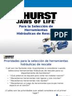 Rescue Tool Selection Priorities - Spanish -Peru