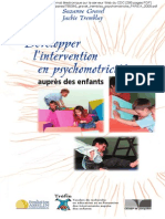 Développer l'intervention en psychomotricité