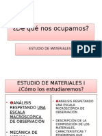 Estudio de Materiales 1
