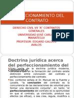 (7) Civil Vii - Perfeccionamiento Del Contrato (1)