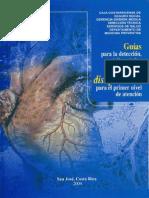 Guias Para La Deteccion, El Diagnostico y El Tratamiento de Las Dislipidemias Para El Primer Nivel de Atencion