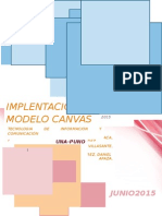 Implementación Del Modelo Canvas