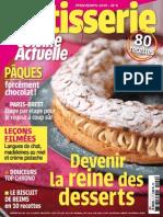 Pâtisserie  Cuisine Actuelle Printemps 2015