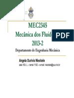 1 MecanicaFluidosII Introducao Mec2345