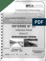 Informe 05 - Anexo c - Geologia y Geotecnia