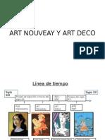 Art Nouveay y Art Deco