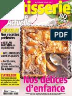 Patisserie Cuisine Actuelle Automne 2014