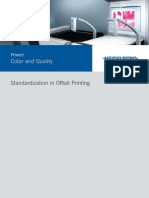 Standardization in Offset Printing
