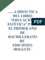 Guía Didáctica de Educacion Estetica