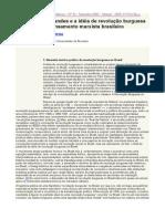Florestan Fernandes e a Idéia de Revolução Burguesa No Pensamento Marxista Brasileiro