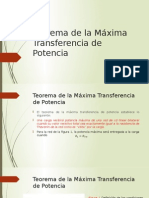teoremadelamaximatransferenciadepotencia