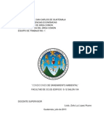 Saneamiento Ambiental Informe Final