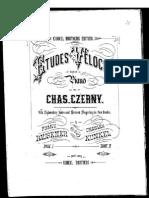 Czerny - Etudes de La Velocite(Piano, Sheet Music, Score Partition)
