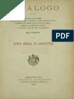 Catalogo de Semillas de 1800s