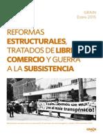 GRAIN - Reformas Estructurales, TLC y Guerra a La Subsistencia