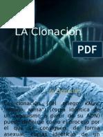 La Clonación Presentacion de Biologia