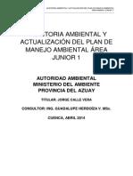 Auditoria Ambiental Junior 1