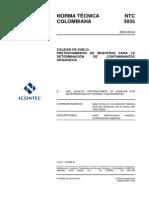NTC3935 PRETRATAMIENTO SUELOS CONTAMINANTES ORGANICOS.pdf