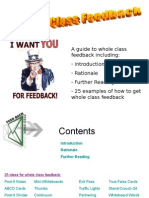 Whole Class Feedback Guide