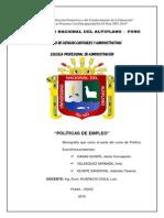 1 a 3 Imprimir Trabajo de Políticas de Empleo
