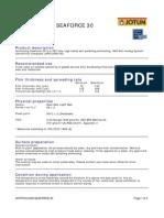 Copy of Tds - Antifouling Seaforce 30 - English (Uk) - Issue