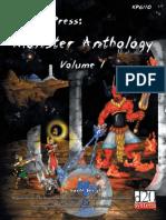 Khan's Press Monster Anthology Volume 1