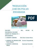 Proyecto Final Producción de Leche en Polvo Envasada