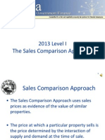 2013 Level I Sales Comparison Approach Audio