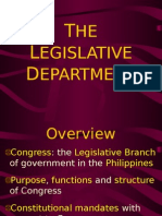 The legislative Department.ppt