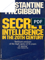 Secret Intelligence in the 20th Century