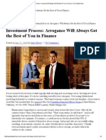 Investment Process_ Arrogance Will Always Get the Best of You in Finance _ the Talkative Man