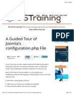 A Guided Tour of Joomla's Configuration.php File